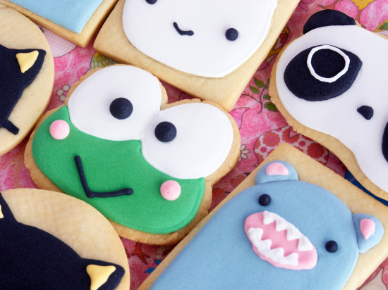 Tarepanda and Keroppi Cookies