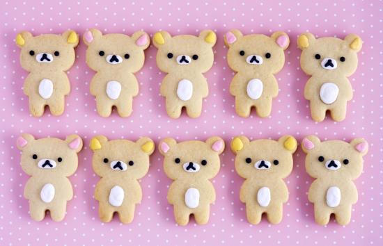 Korilakkuma Cookies