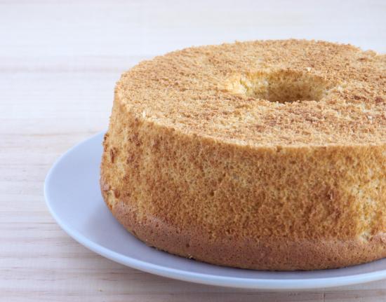Chiffon cake de soja fermentada