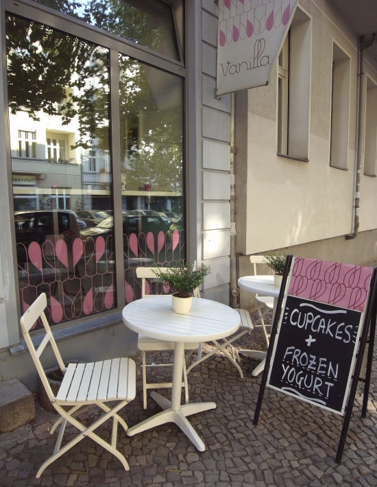 Cupcakes en Berlín: Vanilla bakery