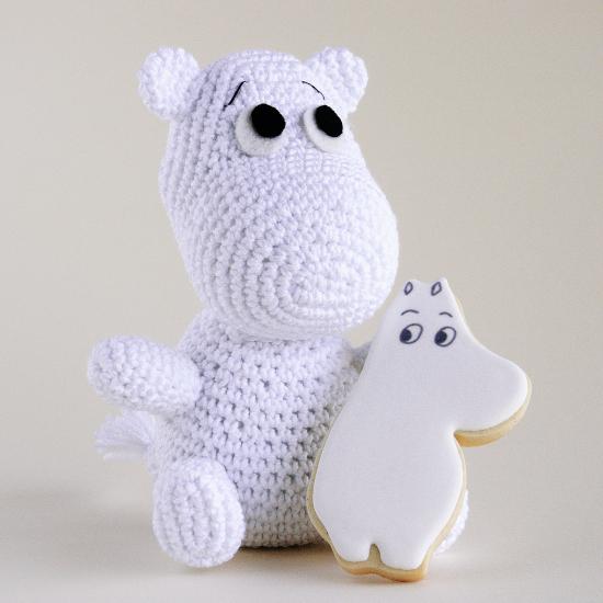 Moomin amigurumi
