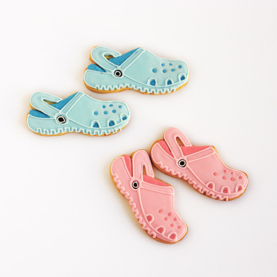 galletas Crocs
