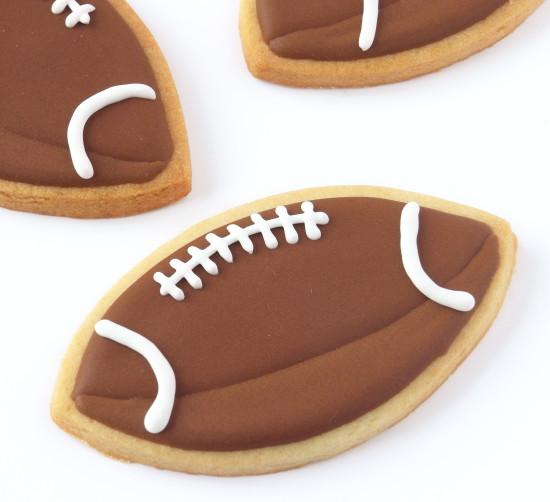 galletas de fútbol americano