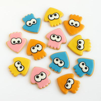 Splatoon Cookies