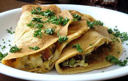 receta de crepes de champiñones para cocinar el fin de semana