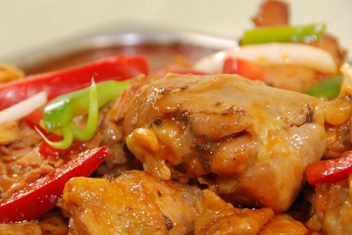 receta de pollo guisado sin salsa