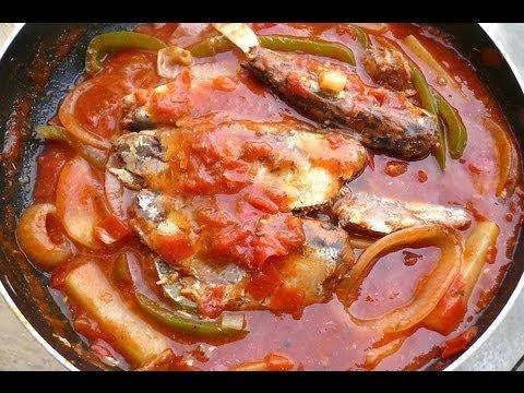 receta de sardina de soya