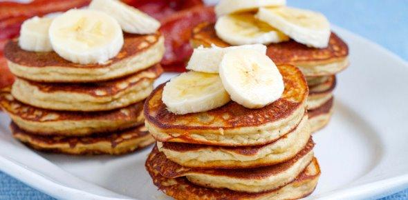 panqueques de plátano receta