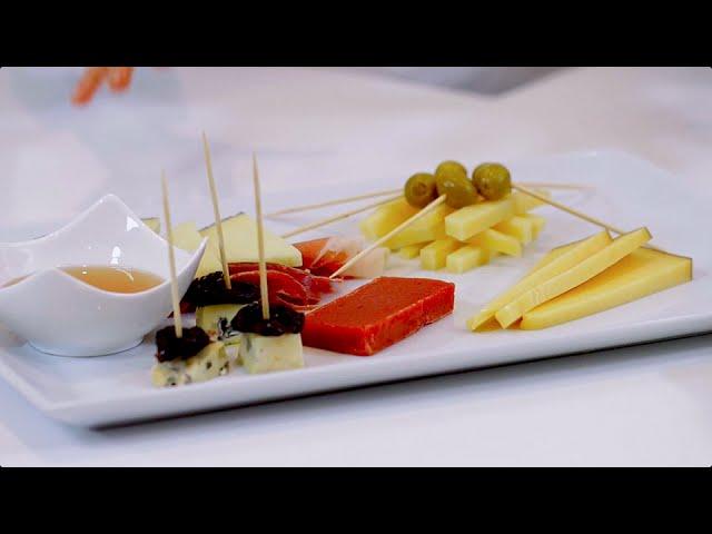 receta tabla de quesos y fondue para un cumpleaños