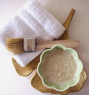 receta de mascarilla de avena y limón