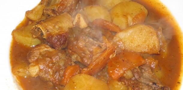 recetas para el invierno estofado con patatas