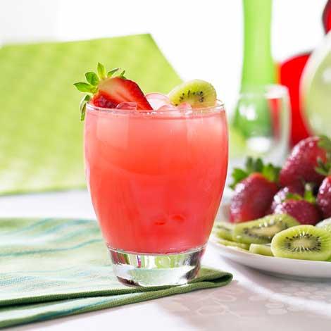 jugo de fresa y kiwi recetas para
