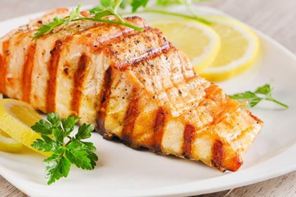 salmon con limon caramelizado receta