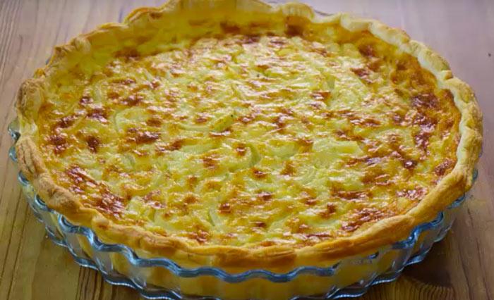 pastel de cebollas receta